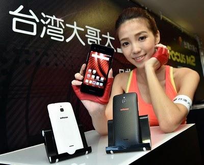 InFocus M2, um smartphone nascido para selfies