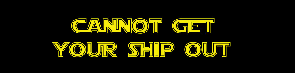 Cannot Get Your Ship Out: the speed zero maneuver