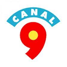 Primer logo de Canal 9