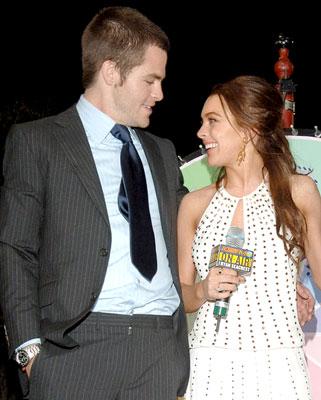 Chris pine dating