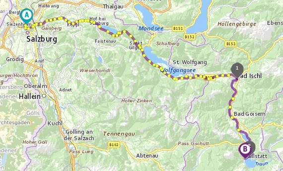 Styles Of Sree Day Trip from Salzburg to Hallstatt using Public