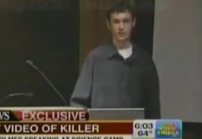 video de james holmes como estudiante