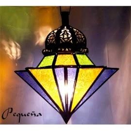 Lámparas de Crístal Árabes