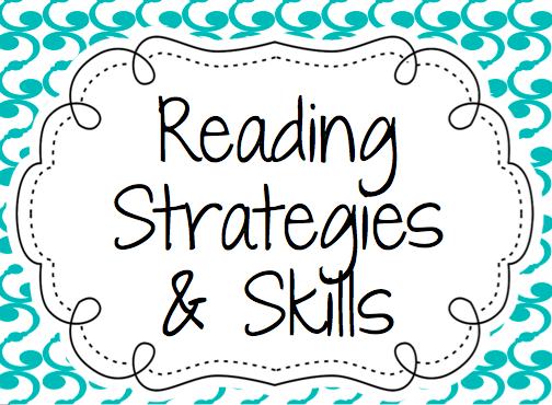Every New Beginning: Reading Skills & Strategies Posters- Free ...