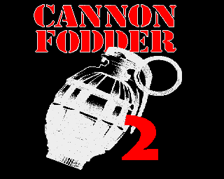 Cannon Fodder 2 hand grenade title screen Amiga