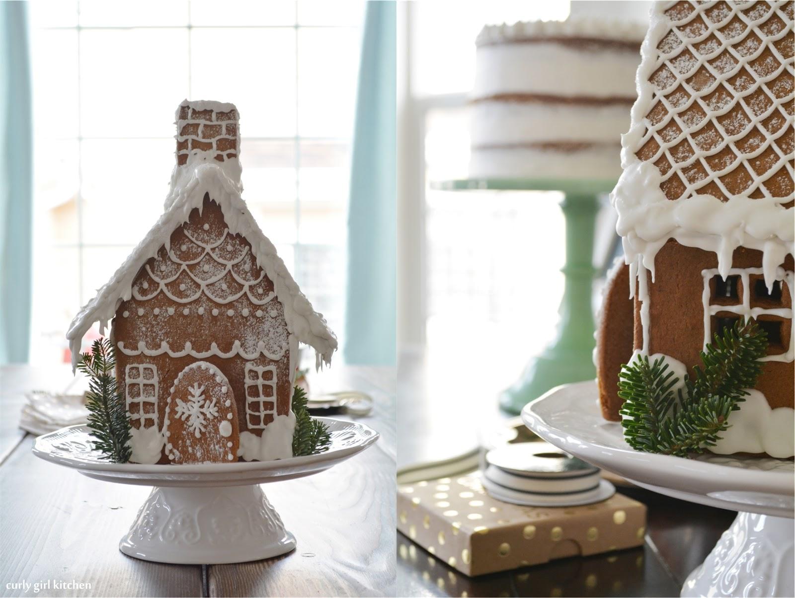 Curly Girl Kitchen: A Gingerbread House, Rum Raisin Apple Butter ...