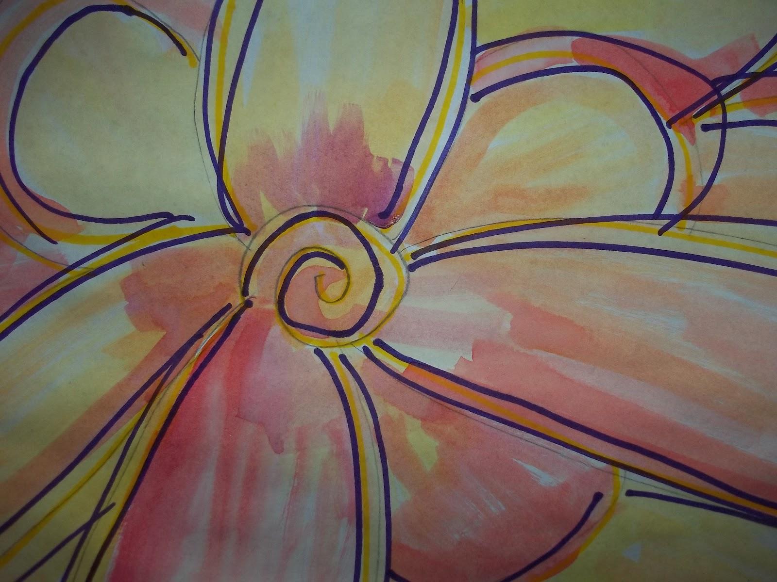 Little Blogfish Our Schools Georgia Okeeffe Art Lesson
