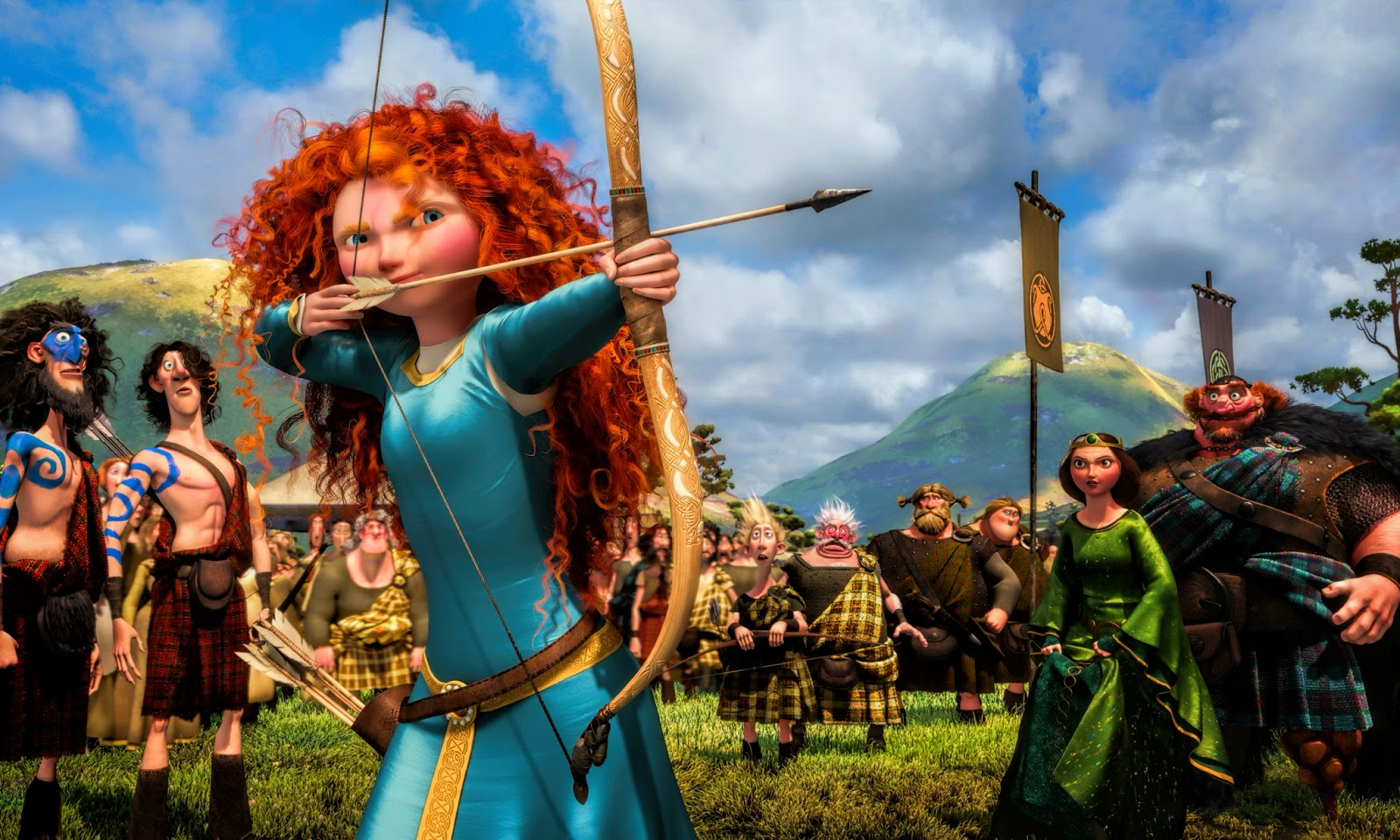Brave Movie Hd Wallpapers Hd Wallpapers High Definition