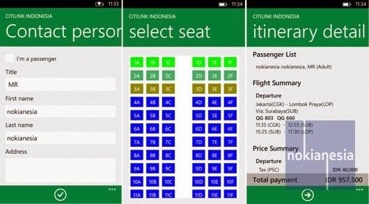 Official @Citilink Mobile Application Arrives for Nokia