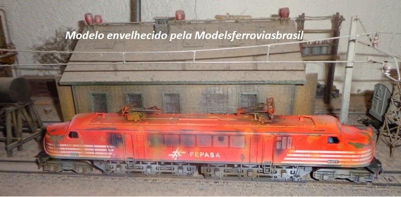 Locomotiva V8 Fepasa fase II