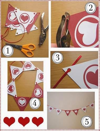 Como fazer em casa as decorações das bodas de papel