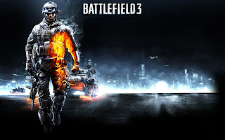 Battlefield 3 Soldier Tanks Behind HD Wallpaper