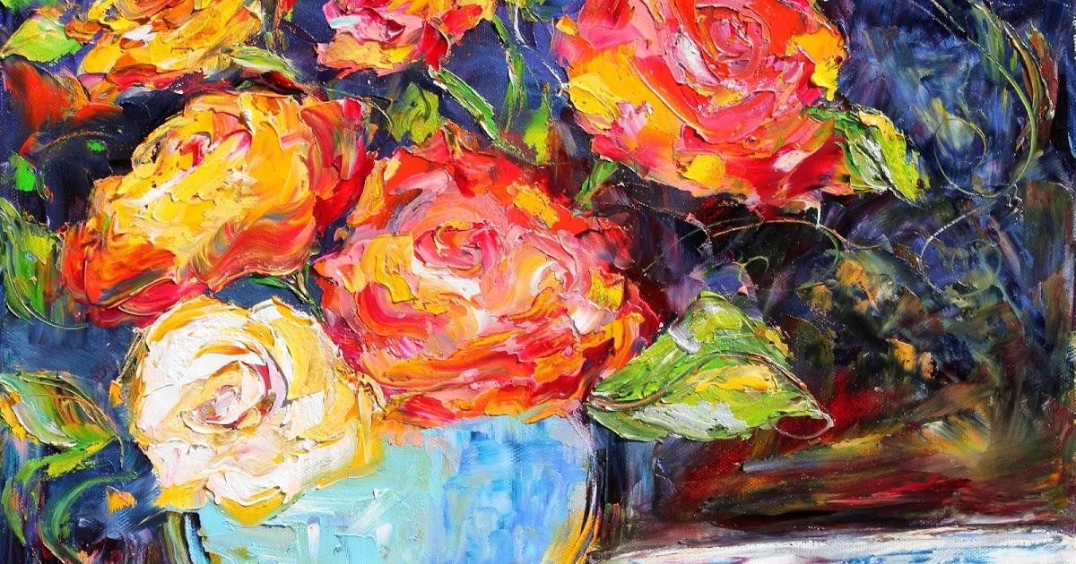 Palette Knife Painters, International: Original oil