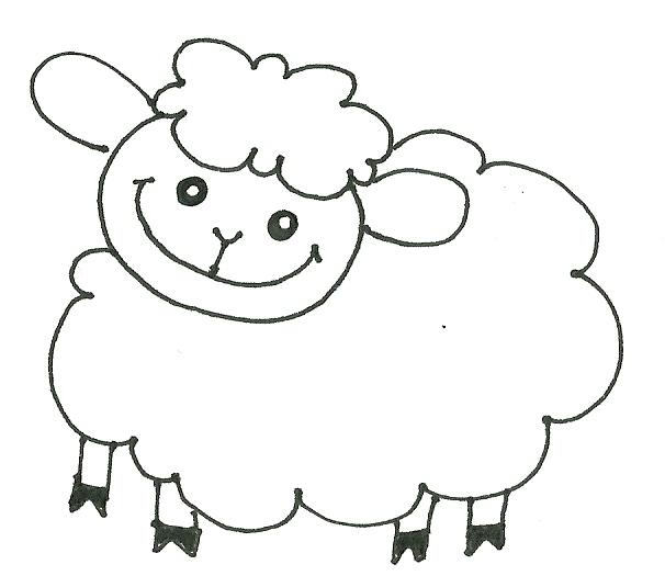 desenhos do ovelhas para colorir   colorir ajuda crescer