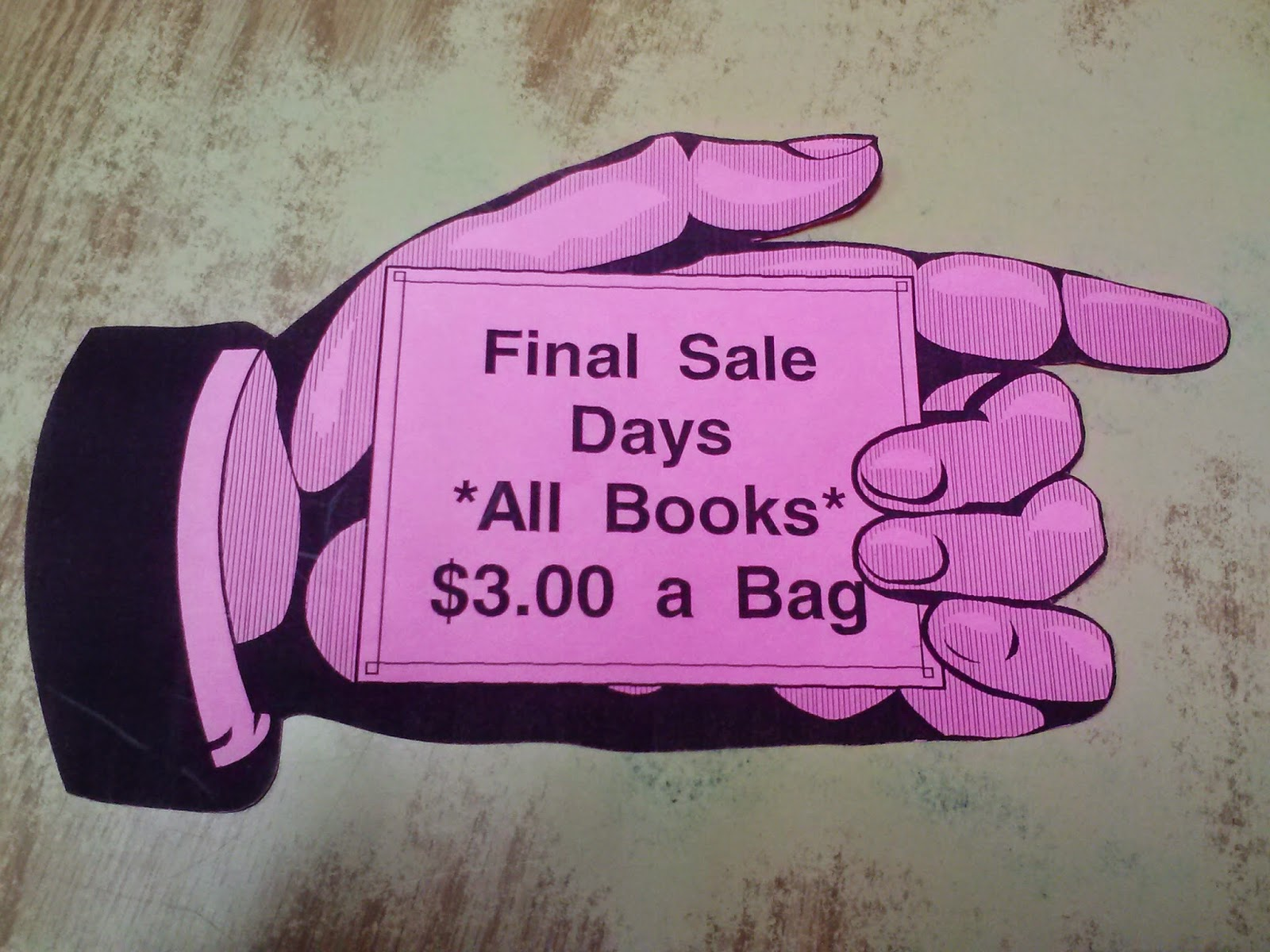 donations book sale