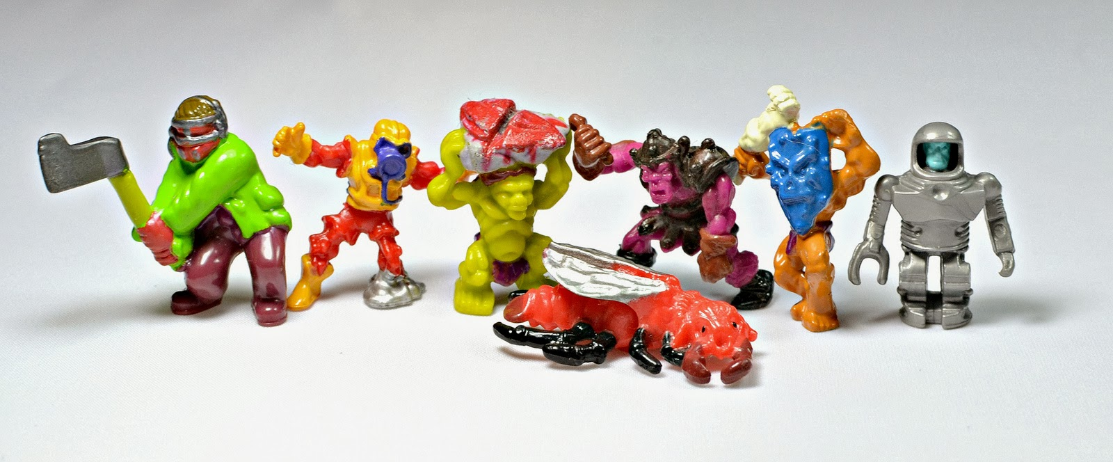 Building Toys From The 90s : Little weirdos mini figures and other monster toys