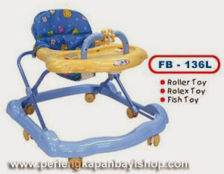 Baby Walker Family FB 136 L Kuning Biru