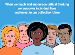 What does critical thinking mean in education