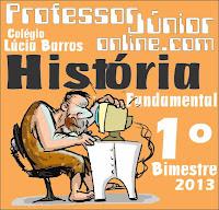 Provas de História - Colégio Lúcia Barros Lisboa