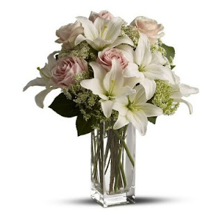 Order a Heavenly and Harmony Vase of Flowers