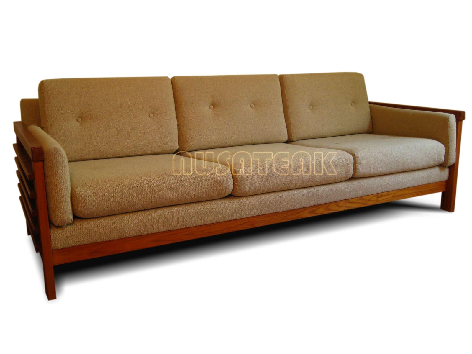 Pidie Teak Sofa 2 - Nusa Teak