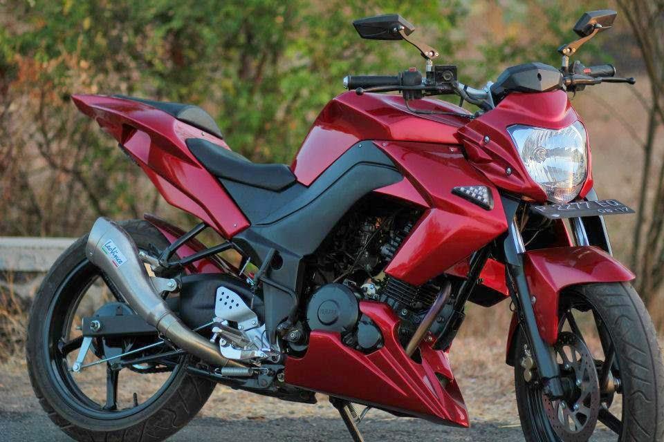 Yamaha Byson merah