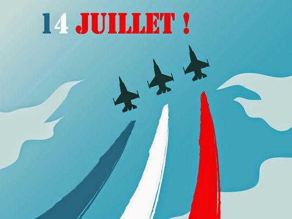 fête nationale du 14 juillet 2014
