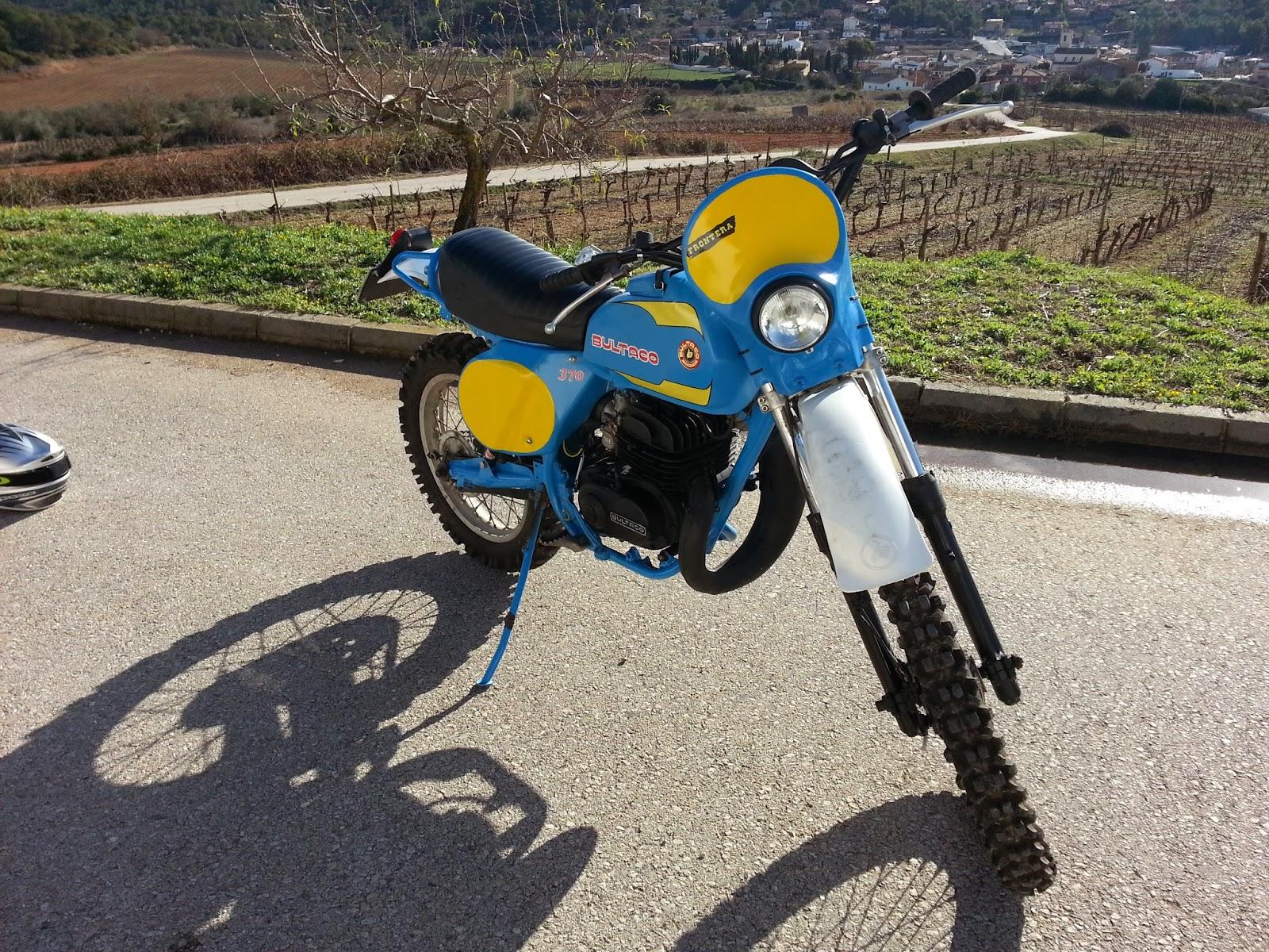 Resultado de imagen de careta bultaco frontera MK11