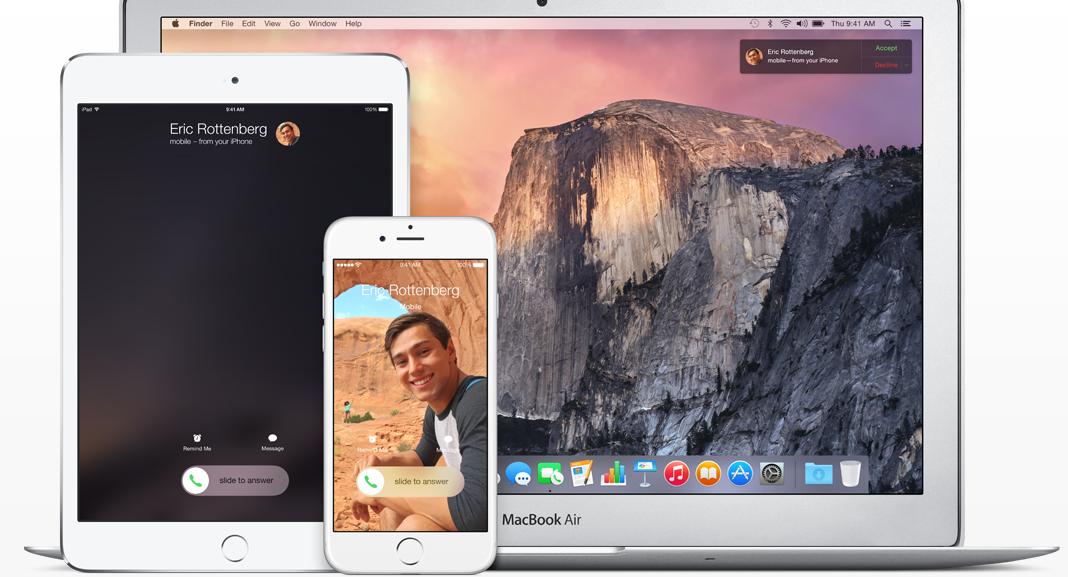 iOS 8 Continuity