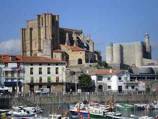Iglesia y castillo de Castro Urdiales