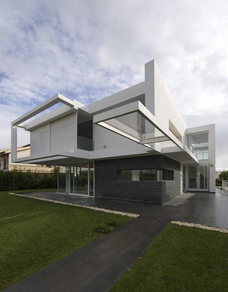 Beautiful Houses Contemporary Minimalist Villa Design