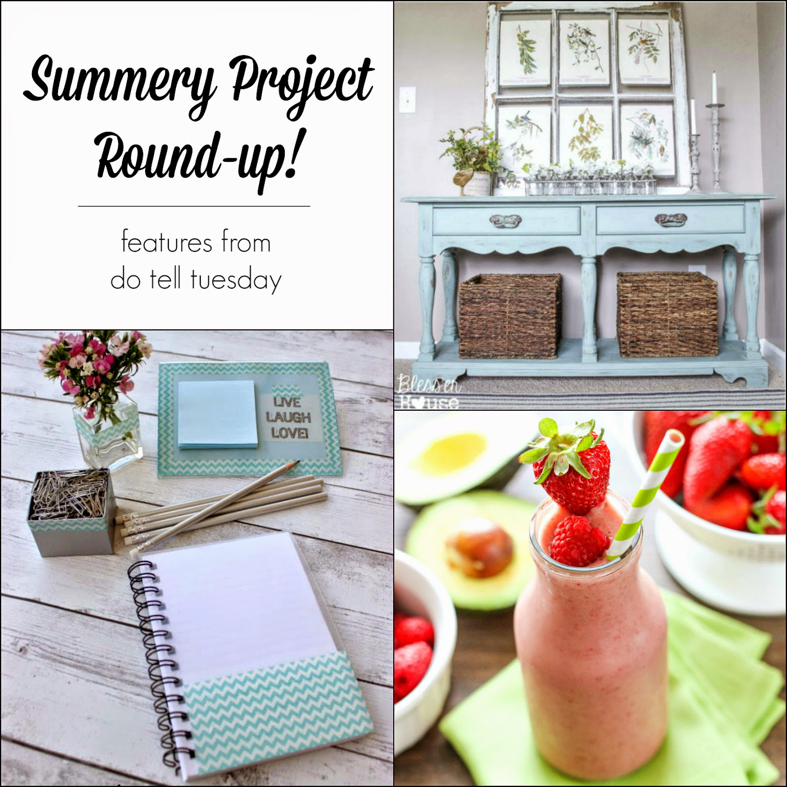 Summery Project Round-Up on Diane's Vintage Zest!