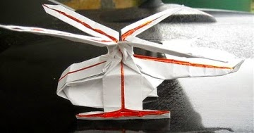 Origami Helicopter That Flies Kids Instructions Easy