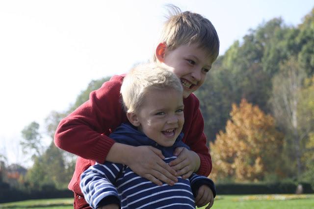 Anton and Matti in Tivoli Park.
