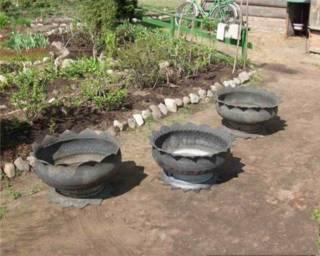 pot ban bekas siap untuk di cat