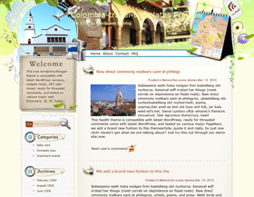 Refresh in Colombia Blogger Templates