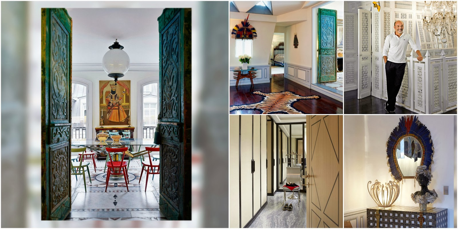 Best of 2013, La casa de Christian Louboutin, house, home, tour