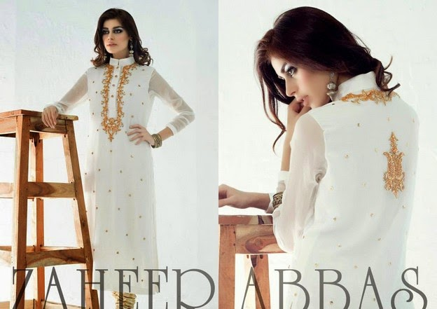 Zaheer Abbas Eid Collection 2014 wwwfashionhuntworldblogspot 7  - Zaheer Abbas Eid Collection 2014 For Women