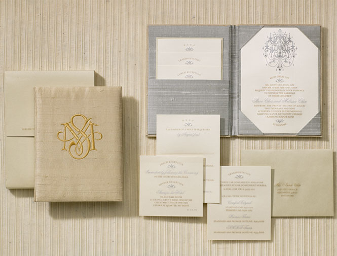 Custom or online wedding invitations