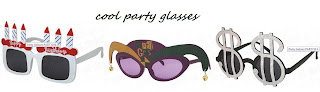 cool party glasses