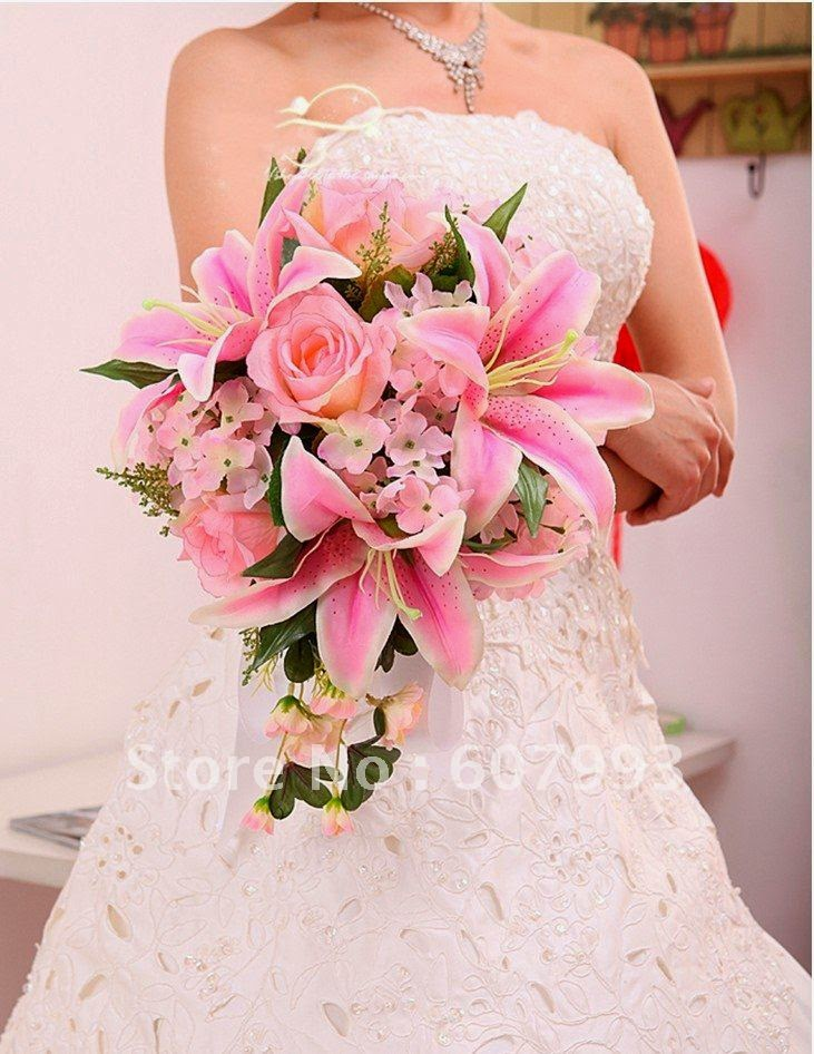 Wedding Flowers Roses And Lilies : Lily rose flower bouquets http refreshrose spot