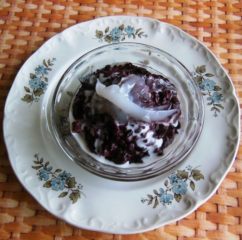 Chumkies kitchen burmese black sticky rice coconut pudding burmese black sticky rice coconut pudding forumfinder Image collections