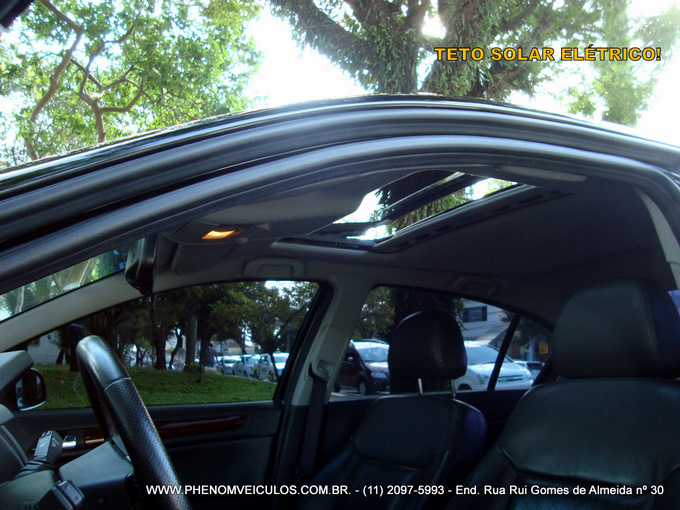 Chevrolet Vectra Elite 2.4 flex preto - teto-solar