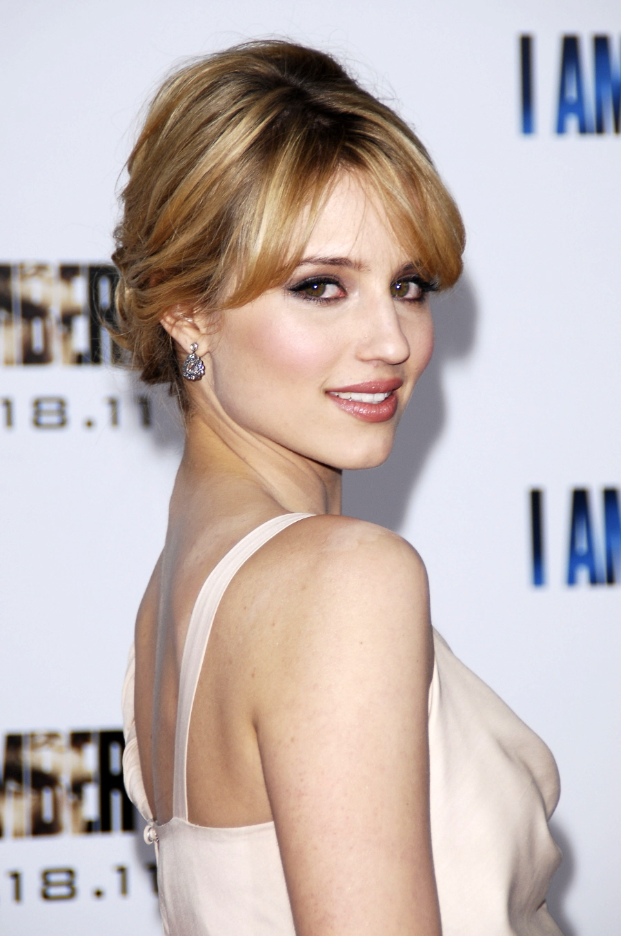 Beauty Of Dianna Agron American Actress Singer With Her Different