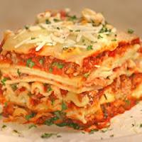 Recette du  lasagne