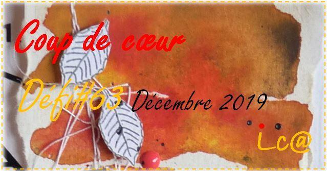 """La Carte à idées """"Coup de coeur"""" défi #63 (déc. 2019)"""