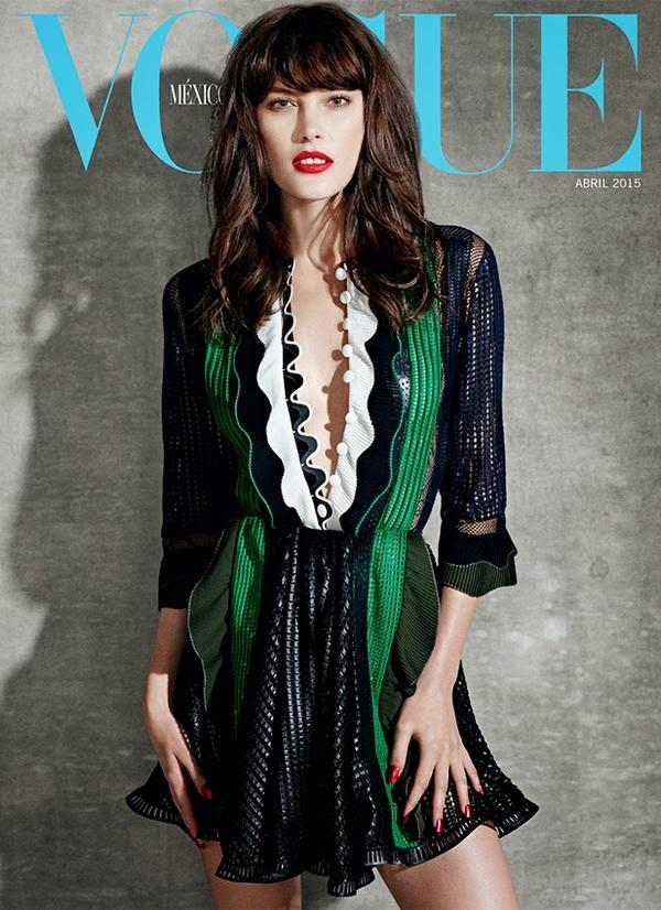 ... Magazines: Fashion Model @ Catherine McNeil - Vogue Mexico, April 2015