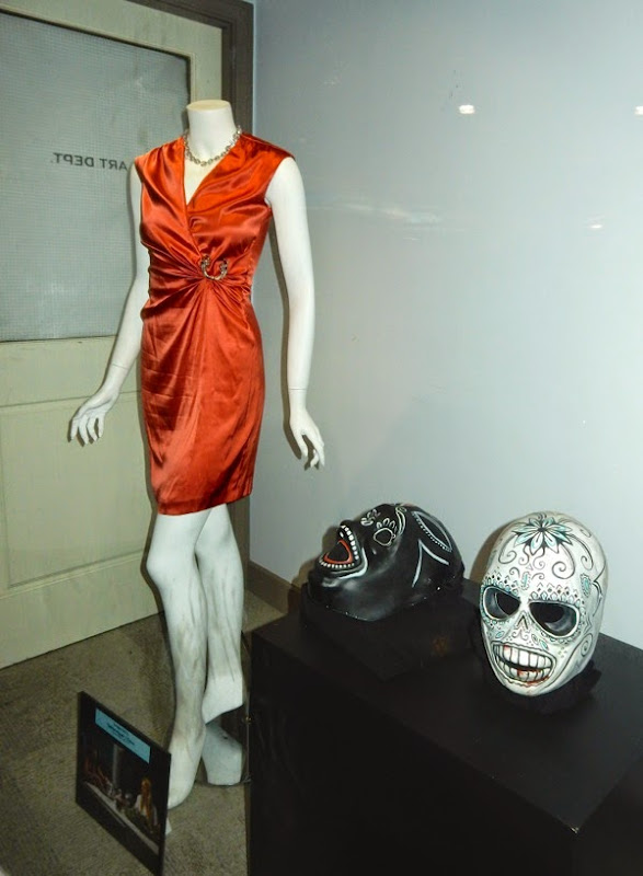 Original Salma Hayek Savages dress masks