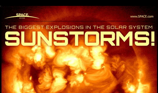 Image: The Biggest Explosions in the Solar System Sunstorms