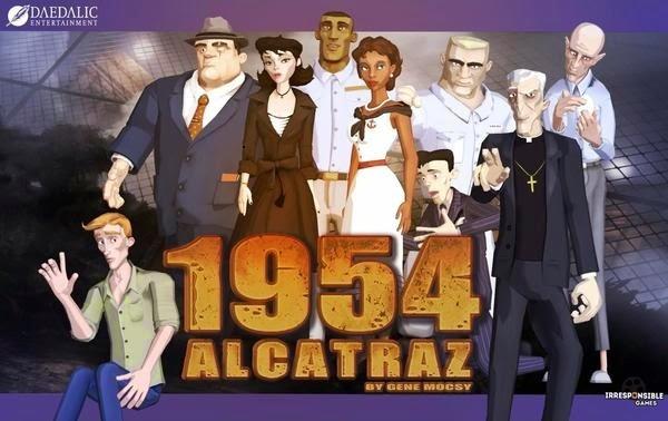 1954 Alcatraz Game